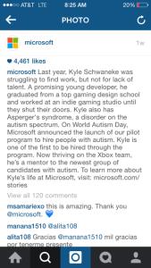 Image credit: Microsoft via Instagram