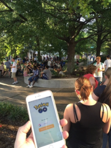 """Over 1,000 people showed up for the Pokémon Go Event and... Servers are down."" - Reddit user kidbranz"